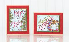 October Sneak Peeks Day 3 - A Watercolored Christmas
