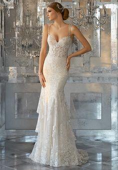 Morilee by Madeline Gardner Martella | Style 8188 Mermaid Wedding Dress
