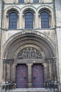 Eglise La Trinité (Abbaye aux Dames) à Caen,Normandie,France