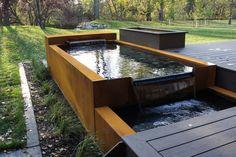 Corten Steel Water Feature