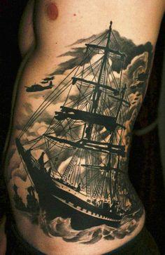 Tattoo Artist - Carl Löfqvist @Nobeltec - Visit our new webstore www.nobeltec.com/  #Nautical #tattoo