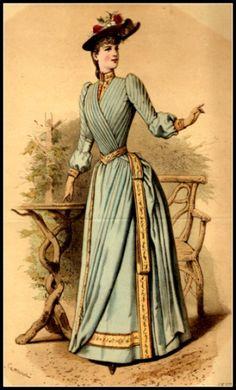 1889 Fashion Plate