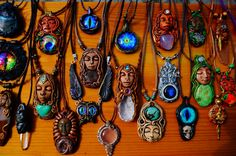This is the second part of the united ChaNoJa Pendant collection :) Lots of Dragon Eyes, Gemstones and Goddess Pendants!