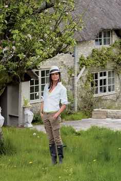 NATALIE MASSENET wants you to start preparing for the start of London Fashion Week by wearing your most stylish wardrobe pieces. English Country Fashion, British Country Style, English Style, French Country, Country Style Outfits, Country Casual, Country Chic, Country Life, Country Living