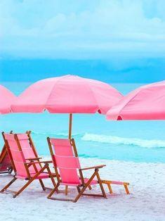 pink beach - Google Search
