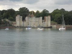 Upnor Castle view from St. Mary's Island