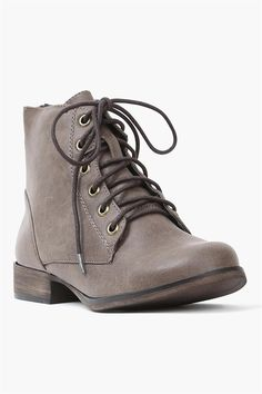 Harlow Half Bootie in Taupe