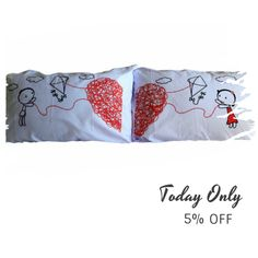 Today Only! 5% OFF this item.  Follow us on Pinterest to be the first to see our exciting Daily Deals. Today's Product: ON SALE - 16B- Let Fly my heart !! Bed Pillow Cases / Covers Buy now: https://www.etsy.com/listing/463540803?utm_source=Pinterest&utm_medium=Orangetwig_Marketing&utm_campaign=christmans   #etsy #etsyseller #etsyshop #etsylove #etsyfinds #etsygifts #pillowcases #pillowcovers #originalgift #photooftheday #instacool #onlineshopping #musthave #instashop #instafollow #shopping…