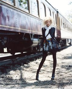 Morning Beauty | Anja Rubik by Arthur Elgort | Fashion Gone Rogue: The Latest in Editorials and Campaigns