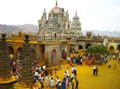 The main temple of god Khandoba in Jejuri, India (by Anant Rohankar ).