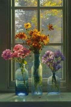 Autumn Flowers by Scott Prior. Such an amazing artist - I had the pleasure of studying under his direction years ago - in the south of France!