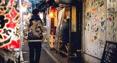 15daa314f7e Японская сувенирная куртка сукадзян - японский стиль и узоры на верхней  одежды