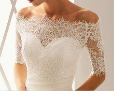 Lace Bridal Jackets & Boleros ~ The Wedding Dresses