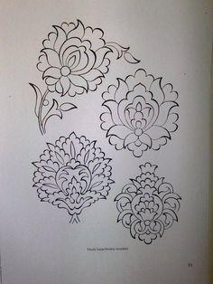 Islamic Art Pattern, Pattern Art, Hand Embroidery Designs, Embroidery Patterns, Sketch Design, Design Art, Mehndi, Henna, Turkish Art