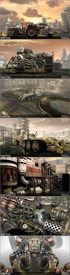 Truck FINAL by chiaroscuro.deviantart.com on @deviantART