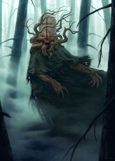 Livre : Substrata: Open World Dark Fantasy de Paul Richards / illustration Tomb Keeper by konstantin kostadinov Monster Art, Monster Concept Art, Fantasy Monster, Monster Design, Dark Fantasy Art, Fantasy Artwork, Dark Creatures, Fantasy Creatures, Arte Horror
