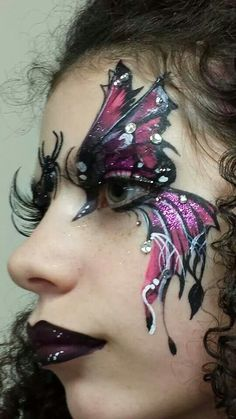 Cool gothic butterfly