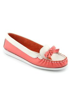 Love this Peach Nisteria Loafer - Women on #zulily! #zulilyfinds