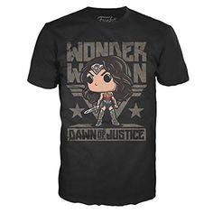"Batman V Superman: Dawn of Justice ""Wonder Woman Pop!"" T-Shirt"