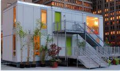 Casa Container - Seattle    A fórmula mágica disso tudo aí em cima? Containers residenciais.
