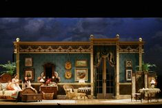 Don Pasquale. Scenic design by Tony Fanning.