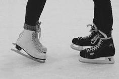 Go ice skating.