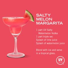 UV+Vodka+Recipe:+Salty+Melon+Margarita