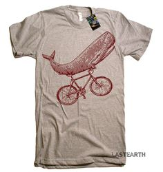 Hey, I found this really awesome Etsy listing at https://www.etsy.com/listing/189193957/mens-whale-on-a-bike-funny-bicycle-t