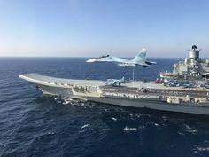 Admiral Kuznetsov Flyby