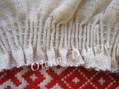 Вишивання по зборках (брижах) - Майстер-клас - Вишиванка Embroidery Hoop Art, Cross Stitch Embroidery, Master Class, Smocking, Costumes, Detail, Sewing, Linens, Clothes