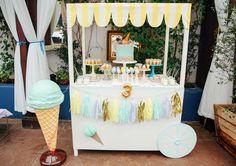 Ice Cream theme Birthday Party Ideas | Photo 2 of 14 | Catch My Party