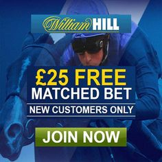 William Hill Sports Promotion Codes August 2016 for a £25 Horse Racing Bet…