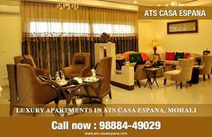 Get best deals on 1/2/3/4 #bhk buy new launch #chandigarh apartments by #ATS Casa Espana. Call Now : 9888449029