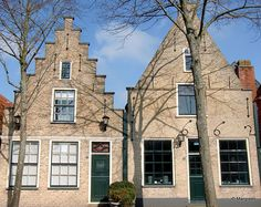 Vlieland houses.