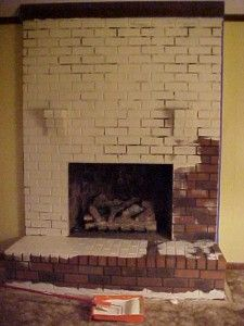 Refurbish Fireplace On Pinterest Fireplace Makeovers