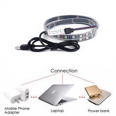 Black Copper Flexible LED Strip for Back light,Photo frame,TV Set,Furniture Decorations,Festival.