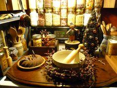 The stove board in autumn-