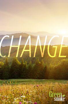 Ir Pavasaris!!! Īstais laiks pārmaiņām! Iegādājieties jau šodien!  http://www.greensmoke.lv/