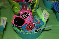 Favors at an 80's retro party #partyfavors #retro