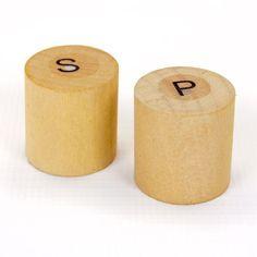 Bamboo Salt & Pepper Mini Set