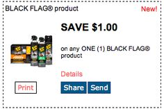 Save $1 on Black Flag Products. Click for more great deals! #Coupons #Deals #Blackflag