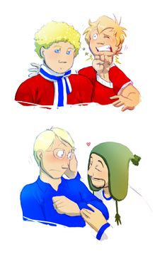 Hetalia Personality Swap | One day some cruel god decided to swap the personalities of the Norways and Finlands.