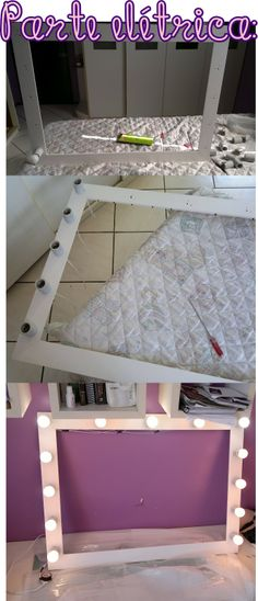 Mirror dressing room - are you doing your homework? # make decoration Source by kel Diy Dressing, Dressing Room Mirror, Dressing Rooms, Diy Vanity Mirror, Diy Tumblr, Ideias Diy, Beauty Room, My Room, Decoration
