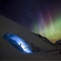 The Northern Lights  Jasper National Park, Canada  Photography by @paulzizkaphot...