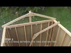How To Build A Shed - Part 5 - Wall Framing - YouTube
