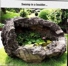 54 Best Ideas Landscaping Backyard Ideas Concrete Water Features – Famous Last Words Dream Garden, Garden Art, Garden Design, Garden Pond, Water Features In The Garden, Backyard Landscaping, Backyard Ideas, Succulents Garden, Garden Planning
