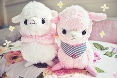Image in Cute collection by Hiyuki Murai~ on We Heart It Kawaii Shop, Kawaii Cute, Cute Alpaca, Cute Plush, Cute Japanese, Cute Toys, Cute Crafts, Cute Pink, Doll Toys