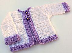 Ravelry: Cherise Toddler Cardigan PDF14-128T pattern by Maria Bittner