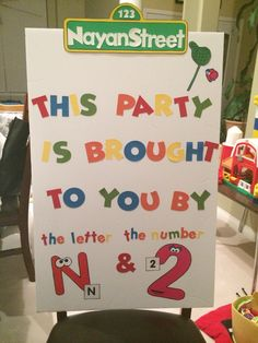 Sesame Street Birthday Sign Boys First Birthday Party Ideas, Monster Birthday Parties, Elmo Party, Elmo Birthday, Mickey Party, Dinosaur Party, Dinosaur Birthday, Sesame Street Birthday Cakes, Sesame Street Party