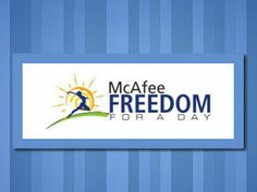 McAfee Freedom for a Day Logo Design